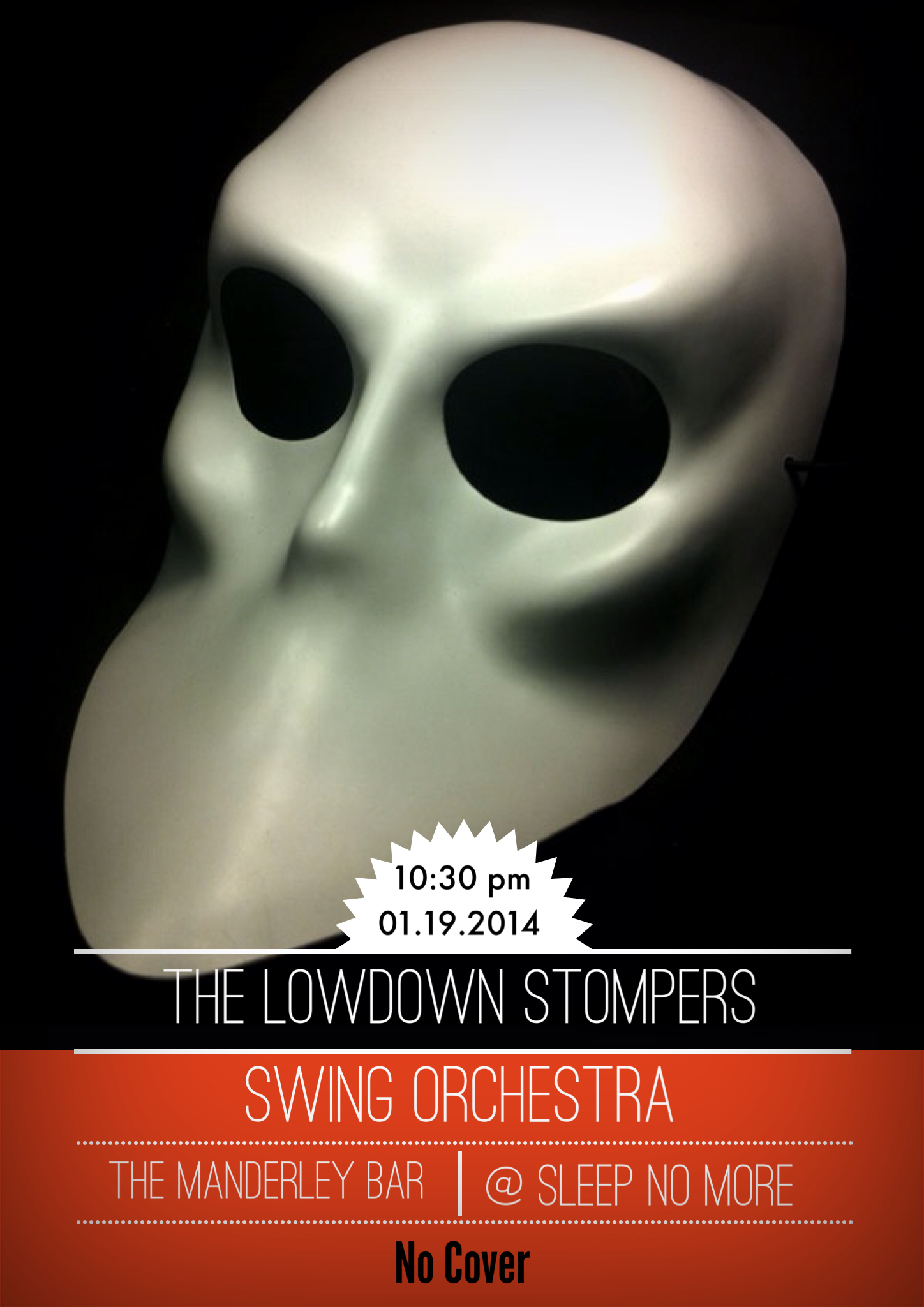 Debut Showcase of The Lowdown Stompers Swing Orchestra!